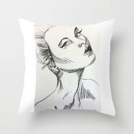 Scratches Throw Pillow