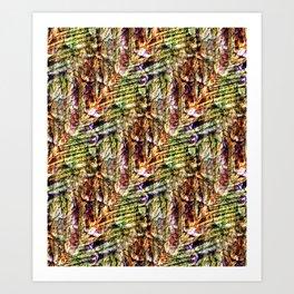 Energy Plumage Art Print