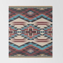 American Native Pattern No. 67 Throw Blanket