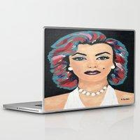 marilyn Laptop & iPad Skins featuring Marilyn by Sartoris ART