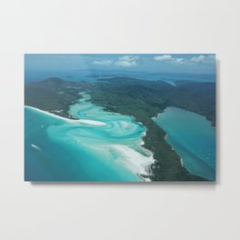Whitsunday from high above Metal Print