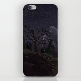 I was too fond of the stars iPhone Skin