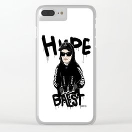 Hypebaest Clear iPhone Case
