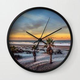 Wake up for Sunrise in California Wall Clock