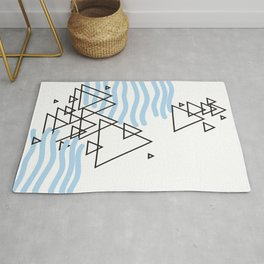Ocean Mountains Island Rug