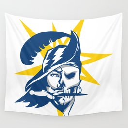 Tampa Bay Sports V3 Blue w/ Yellow Star Wall Tapestry
