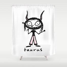 taurus. uh! Shower Curtain