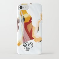 aang iPhone & iPod Cases featuring Avatar Aang II by daniel