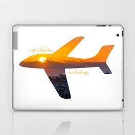 Catch Flights, Not Feelings - Portugal Laptop & iPad Skin