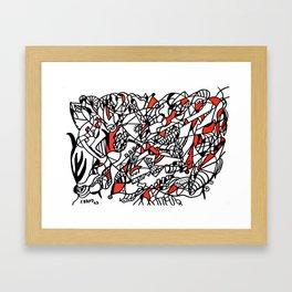 Abstract 28 Framed Art Print