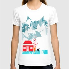 Gas station and the dog T-shirt