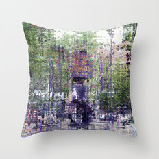 ...because the past can't be a rusty old bludgeon. Throw Pillow