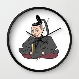 Hideyoshi_japanese historical hero  Wall Clock