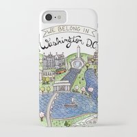 dc iPhone & iPod Cases featuring Washington DC by Brooke Weeber