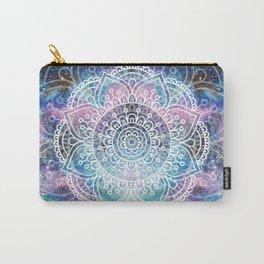 Galaxy Mandala | Boho Watercolor Carry-All Pouch