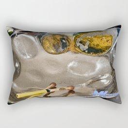 The Steel Pan Rectangular Pillow