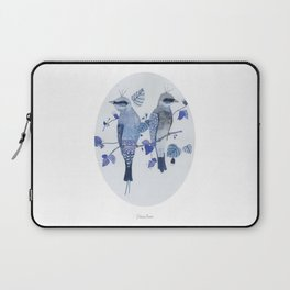 Blue birds Laptop Sleeve