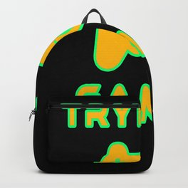 Tryhard Gamer Gaming Gamepad Console console Backpack