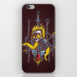 Cursed Knight iPhone Skin
