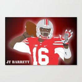 Ohio State Buckeyes - JT Barrett - 2016 Canvas Print