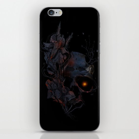 DeathBlooms iPhone & iPod Skin