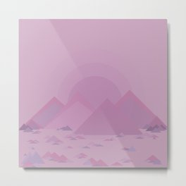 The lilac hills Metal Print
