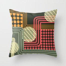 1950s 01 Throw Pillow