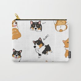 Corgi Pawty Carry-All Pouch
