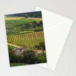 landscape in southern france 2 Stationery Cards