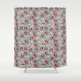 Full Analik Shower Curtain
