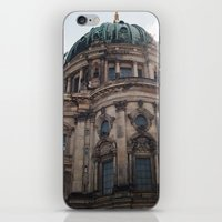 castle in the sky iPhone & iPod Skins featuring Castle by Snail,Snail