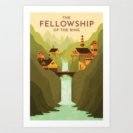 Fellowship Print Art Print