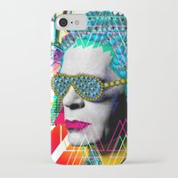 karl iPhone & iPod Cases featuring karl by DIVIDUS