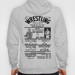 #3 Memphis Wrestling Window Card Hoody