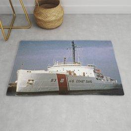 USCG Vintage Mackinaw 83 Icebreaker Rug