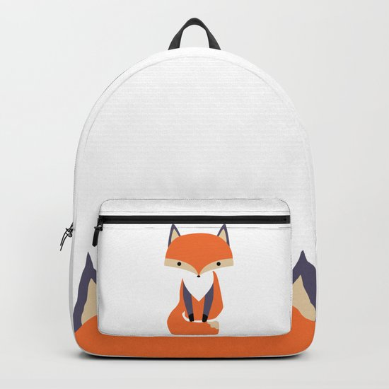 Little Fox Illustrion Backpack