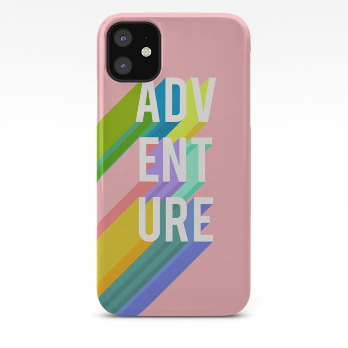 Adventure in Pink iPhone Case