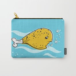 fish and chick or fish leg Carry-All Pouch