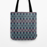 persian Tote Bags featuring Persian Feel by lalaprints