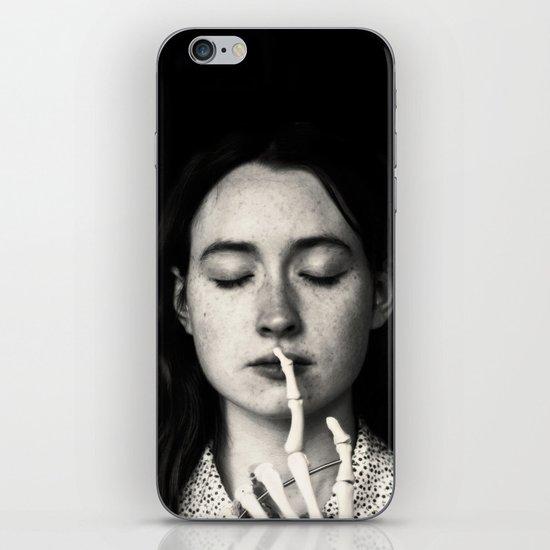 shh iPhone & iPod Skin