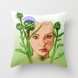 Escapism Throw Pillow