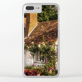 A Chiltern Cottage Clear iPhone Case