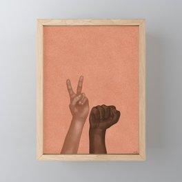 Justice Framed Mini Art Print