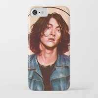 alex turner iPhone & iPod Cases featuring Alex Turner by Varsha Vijayan