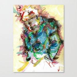 Slouch Walk Canvas Print