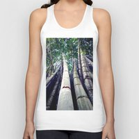bamboo Tank Tops featuring bamboo by Dinesh