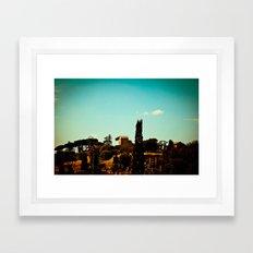 Roman Hills  Framed Art Print