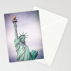 Lady Liberty Stationery Cards