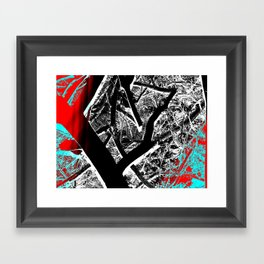 Bold Branches Framed Art Print