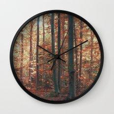 morton combs 01 Wall Clock